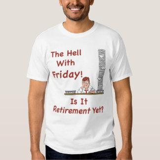 El infierno con la camiseta de los hombres de polera