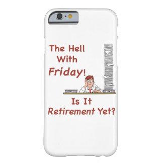 El infierno con viernes funda barely there iPhone 6