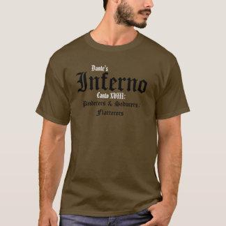 El infierno de Dante, camisa del Canto XVIII