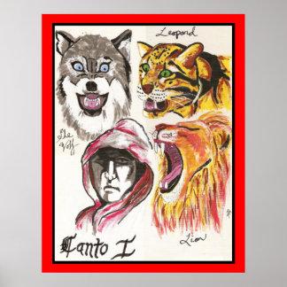 El infierno de Dante, Canto que imprimo Poster