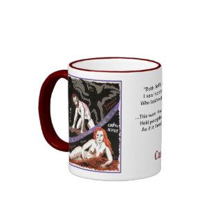 El infierno de Dante taza del Canto XVIII