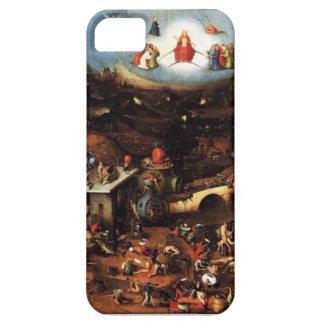 El infierno de Hieronymus Bosch en su cubierta iPh iPhone 5 Carcasa