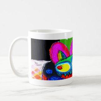 ¡el infierno es solamente lo que hacemos de él! taza de café