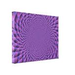 El infinito es púrpura impresion de lienzo