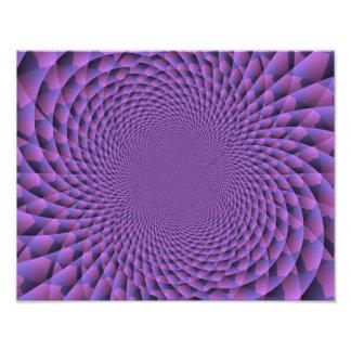El infinito es púrpura impresión fotográfica