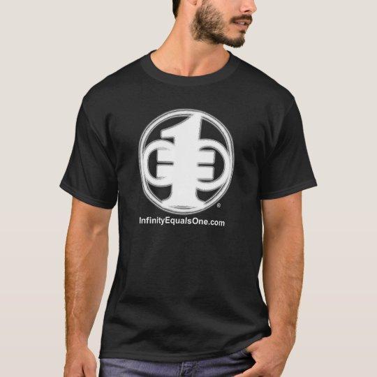 El infinito iguala una camiseta (el NEGRO)