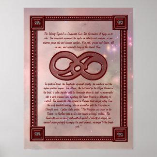 El infinito protagoniza el poster informativo
