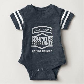 El informático apenas tiene gusto de mi papá body para bebé