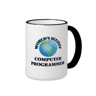 El informático más atractivo del mundo tazas