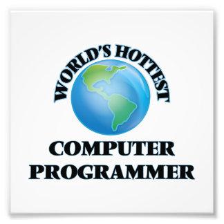 El informático más caliente del mundo fotografía