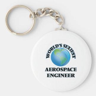 El ingeniero aeroespacial más atractivo del mundo llaveros personalizados
