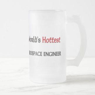 El ingeniero aeroespacial más caliente de los jarra de cerveza esmerilada