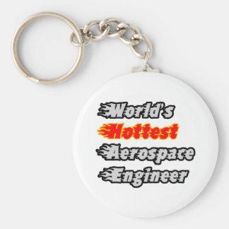 El ingeniero aeroespacial más caliente del mundo llaveros personalizados