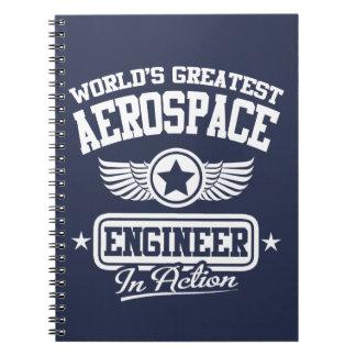 El ingeniero aeroespacial más grande del mundo libretas
