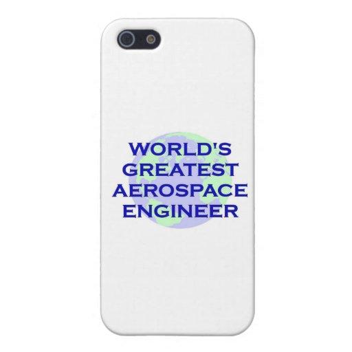 EL INGENIERO AEROESPACIAL MÁS GRANDE DEL MUNDO iPhone 5 CARCASAS
