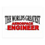 El ingeniero aeroespacial más grande del mundo tarjetas postales