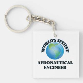 El ingeniero aeronáutico más atractivo del mundo llaveros