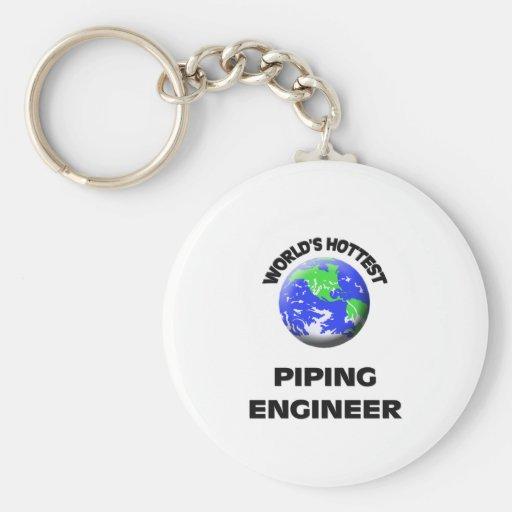 El ingeniero aflautado más caliente del mundo llavero personalizado