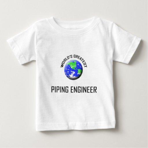 El ingeniero aflautado más grande del mundo tee shirt