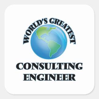 El ingeniero asesor más grande del mundo colcomanias cuadradass