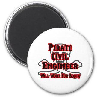 El ingeniero civil del pirata… trabajará para el b imán redondo 5 cm