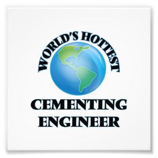El ingeniero de cementación más caliente del mundo impresiones fotograficas