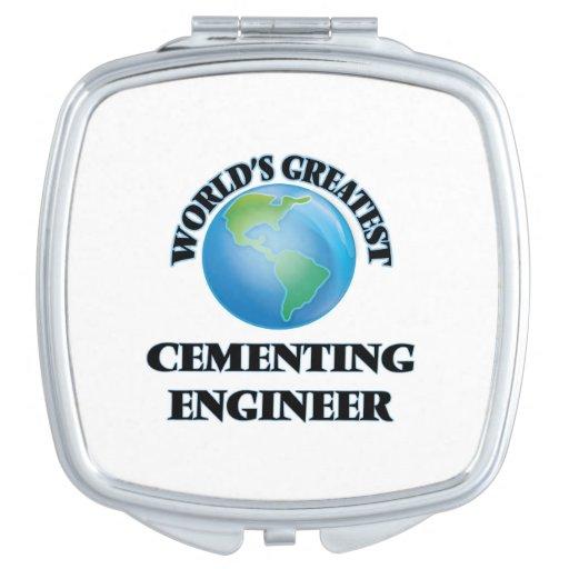 El ingeniero de cementación más grande del mundo espejo para el bolso