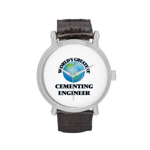 El ingeniero de cementación más grande del mundo relojes de pulsera