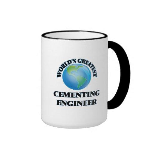 El ingeniero de cementación más grande del mundo tazas