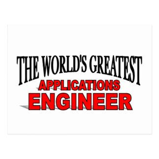 El ingeniero de los usos más grande del mundo tarjetas postales