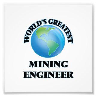El ingeniero de minas más grande del mundo arte fotográfico