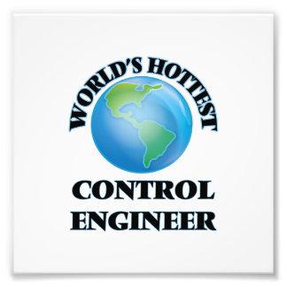 El ingeniero del control más caliente del mundo foto