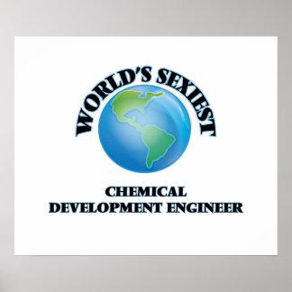 El ingeniero del desarrollo químico más atractivo posters