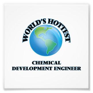El ingeniero del desarrollo químico más caliente arte fotografico