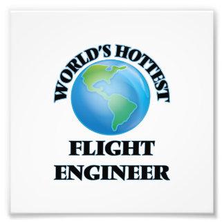 El ingeniero del vuelo más caliente del mundo impresion fotografica