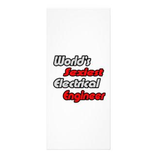 El ingeniero eléctrico más atractivo del mundo tarjeta publicitaria a todo color