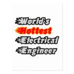 El ingeniero eléctrico más caliente del mundo tarjeta postal
