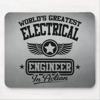 El ingeniero eléctrico más grande del mundo en la mouse pads
