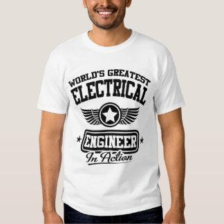 El ingeniero eléctrico más grande del mundo en la polera