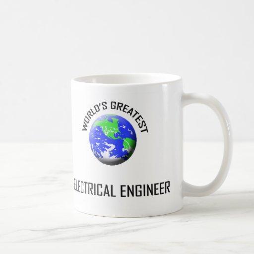 El ingeniero eléctrico más grande del mundo taza de café
