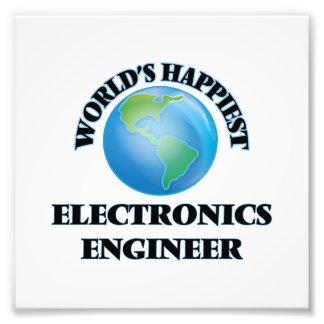El ingeniero electrónico más feliz del mundo fotografía