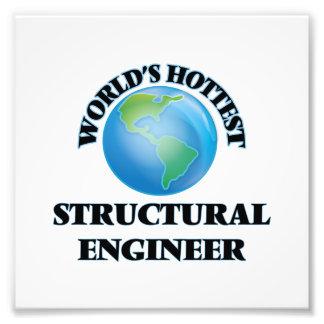 El ingeniero estructural más caliente del mundo impresiones fotográficas