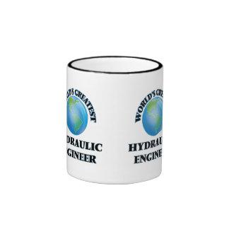 El ingeniero hidráulico más grande del mundo tazas de café