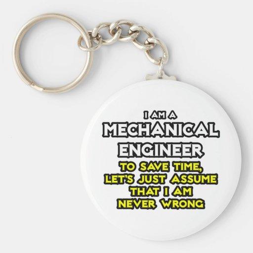 El ingeniero industrial… asume que nunca soy incor llavero