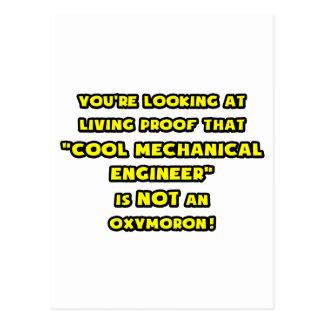 El ingeniero industrial fresco no es un Oxymoron Postal