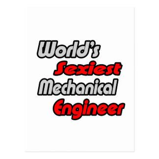El ingeniero industrial más atractivo del mundo tarjeta postal