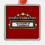 El ingeniero industrial más grande del mundo ornamentos de navidad