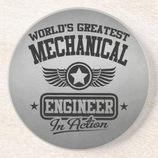 El ingeniero industrial más grande del mundo en la posavasos personalizados