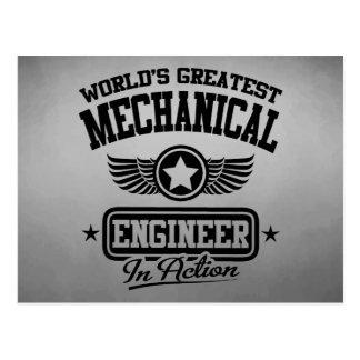 El ingeniero industrial más grande del mundo en la tarjetas postales