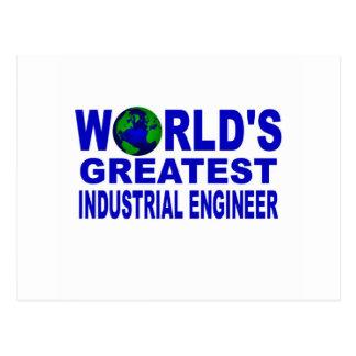 El ingeniero industrial más grande del mundo postal